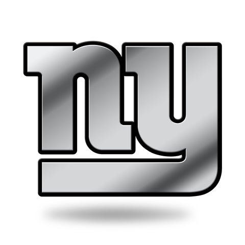 New York Giants Logo 3D Chrome Auto Emblem NEW!! Truck or Car! Rico NFL