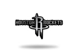 Houston Rockets Logo 3D Chrome Auto Emblem NEW!! Truck or Car! Rico NBA