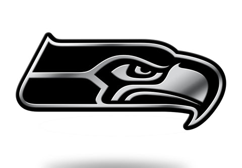 Seattle Seahawks Logo 3D Chrome Auto Emblem NEW!! Truck or Car! Rico