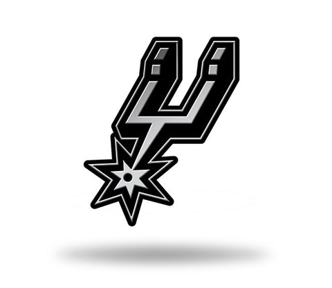 San Antonio Spurs Logo 3D Chrome Auto Emblem NEW!! Truck or Car! Rico NBA