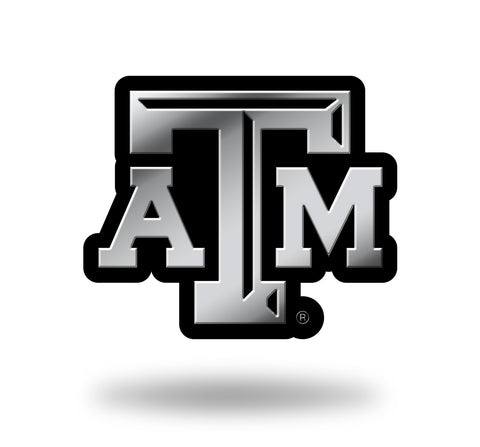 Texas A&M Aggies Logo 3D Chrome Auto Emblem NEW!! Truck or Car! Rico NCAA