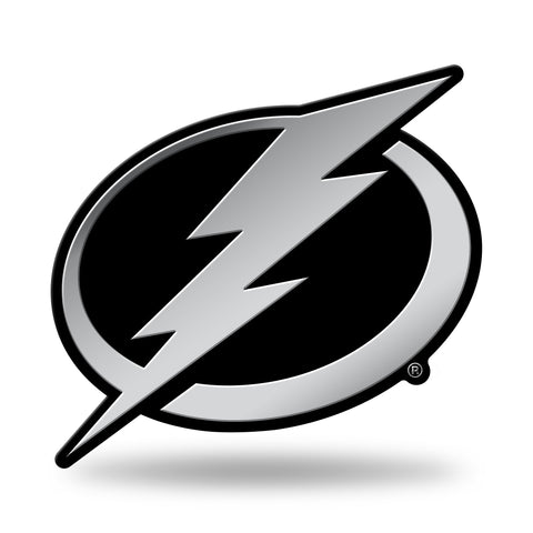 Tampa Bay Lightning Logo 3D Chrome Auto Emblem NEW!! Truck or Car! Rico NHL