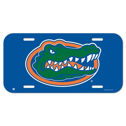 Florida Gators Logo Plastic License Plate NEW!! Free Shipping