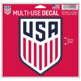 "USA Soccer 3"" x 4"" Multi Use Die Cut Decal Window, Car or Laptop! USMNT"