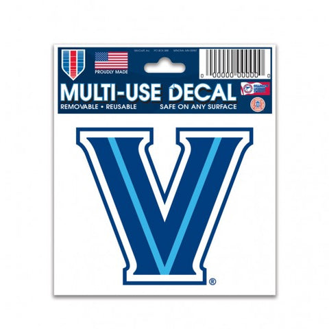 "Villanova Wildcats 3"" x 4"" Multi Use Decal Window, Car or Laptop!"