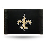 New Orleans Saints Nylon Trifold Wallet NEW! NFL