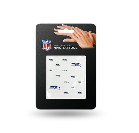 Seattle Seahawks Nail Tattoos Peel & Stick NEW! Free Shipping NFL
