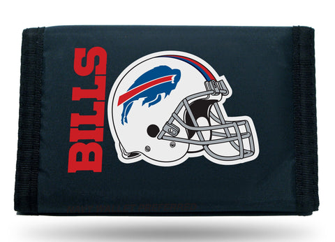 Buffalo Bills Nylon Trifold Wallet NEW! NFL