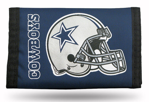 Dallas Cowboys Nylon Trifold Wallet NEW! NFL