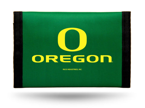 Oregon Ducks Nylon Trifold Wallet NEW! NCAA