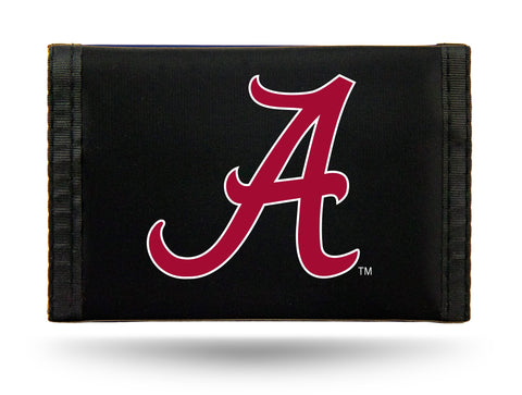 Alabama Crimson Tide Nylon Trifold Wallet NEW! NCAA