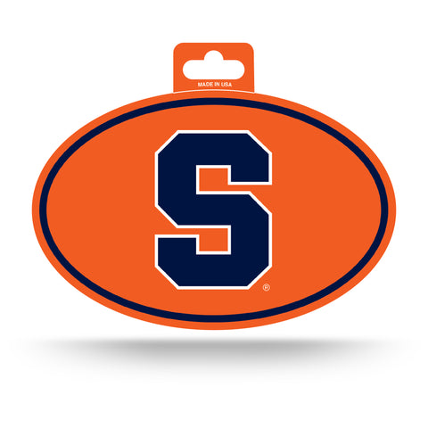 Syracuse Orange Oval Decal Full Color Sticker NEW!! 3 x 5 Inches Free Shipping