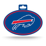 Buffalo Bills Oval Decal Full Color Sticker NEW!! 3 x 5 Inches Free Shipping