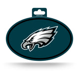 Philadelphia Eagles Oval Decal Full Color Sticker NEW!! 3 x 5 Inches Free Shipping