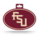 Florida State Seminoles Oval Decal Full Color Sticker NEW!! 3 x 5 Inches Free Shipping