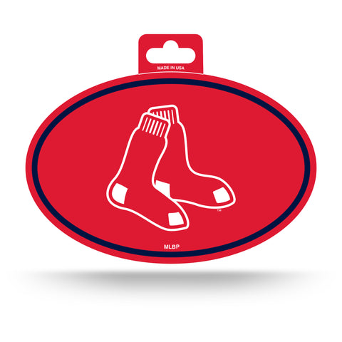 Boston Red Sox Oval Decal Full Color Sticker NEW!! 3 x 5 Inches Free Shipping