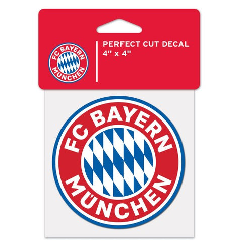 "FC Bayern Munich 3"" x 3"" Die-Cut Decal Window, Car or Laptop!"