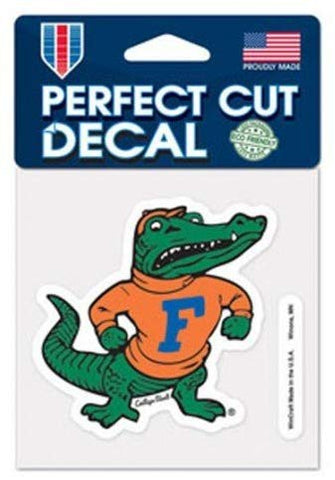 Florida Gators Retro Logo Die Cut Decal Stickers Perfect Cut 3x3 inches