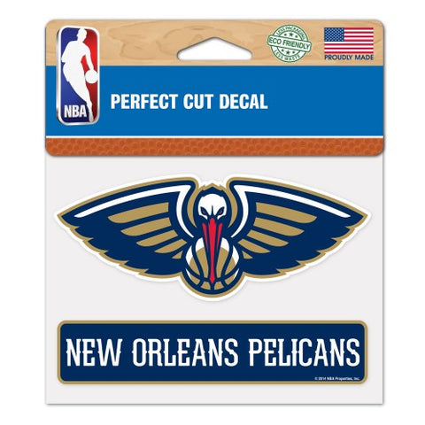 New Orleans Pelicans Logo Die Cut Decal Stickers Perfect Cut 4x3 inches Zion Williamson