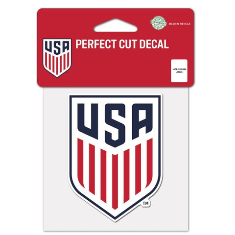 USA Soccer Logo Die Cut Decal Stickers Perfect Cut 3x2 Inches USMNT