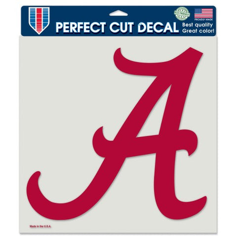 "Alabama Crimson Tide 7"" x 7"" Perfect Cut Decal Window, Car or Laptop!"