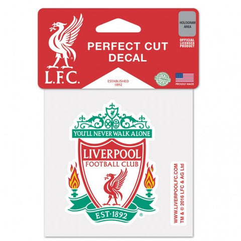 "Liverpool FC 3"" x 2"" Die-Cut Decal Window, Car or Laptop!"