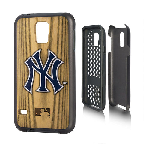 New York Yankees Samsung Galaxy S5 Phone Rugged Phone Cover Durable NFL NEW!!