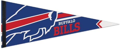 Buffalo Bills Premium Pennant Felt Wool NEW!! Free Shipping 12x30 Inches