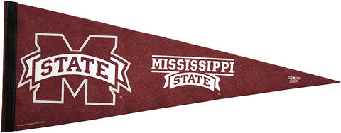 Mississippi State Bulldogs Premium Pennant Felt Wool NEW!! Free Shipping
