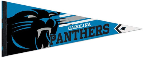 Carolina Panthers Premium Pennant Felt Wool NEW!! Free Shipping 12x30 Inches