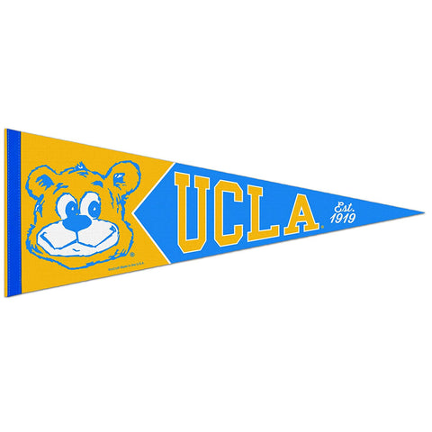 UCLA Bruins Retro Logo Premium Pennant Felt Wool NEW!! Free Shipping