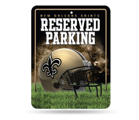 New Orleans Saints Aluminum Reserved Parking Sign NEW!!