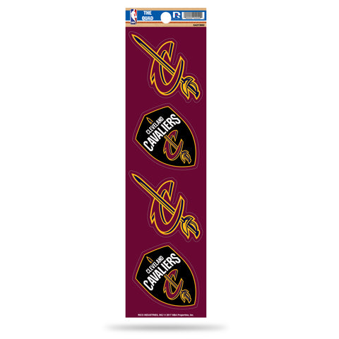 Cleveland Cavaliers Set of 4 Decals Stickers The Quad by Rico 2x2 Inches