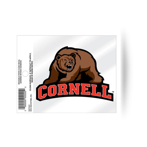 Cornell Big Red Static Cling Sticker NEW!! Window or Car! NCAA