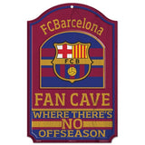 "FC Barcelona FAN CAVE Sign NEW! 11""X17"" Man Cave"