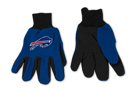 Buffalo Bills Sport Utility Work Gloves NEW! NFL Free Shipping