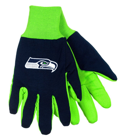 Seattle Seahawks Sport Utility Gloves NEW Free Shipping! NFL