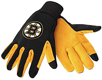 Boston Bruins Texting Gloves NEW!