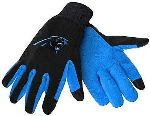 Carolina Panthers Texting Gloves NEW!