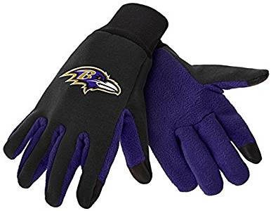 Baltimore Ravens Texting Gloves NEW!