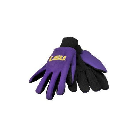 LSU Tigers Sport Utility Work Gloves NEW! NCAA Free Shipping
