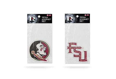 Florida State Seminoles Magnet Set 2 piece Logo FSU NEW Free Shipping!