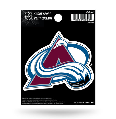 "Colorado Avalanche 3"" x 2"" Die-Cut Decal Window, Car or Laptop!"