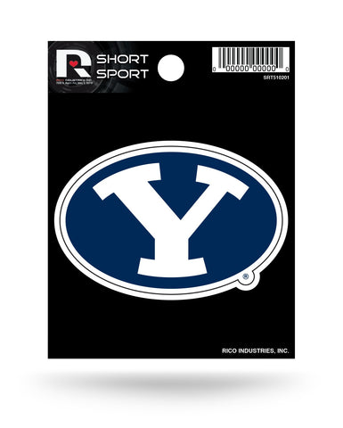"BYU Cougars 3"" x 2"" Die-Cut Decal Window, Car or Laptop!"