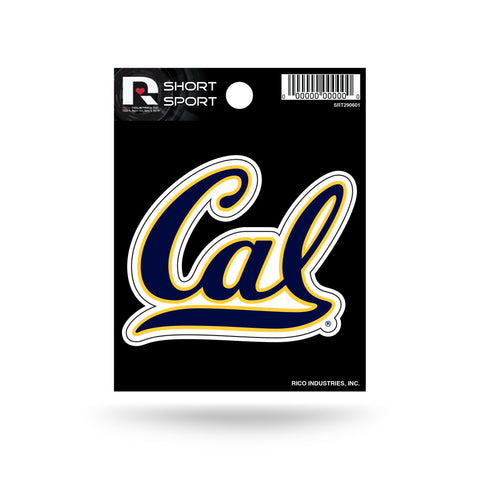 "CAL Golden Bears 3"" x 2"" Die-Cut Decal Window, Car or Laptop!"