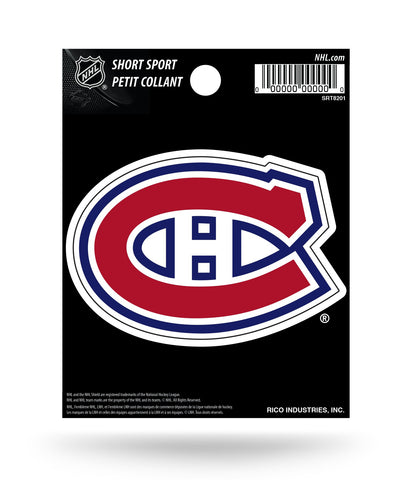 "Montreal Canadiens 3"" x 2"" Die-Cut Decal Window, Car or Laptop!"