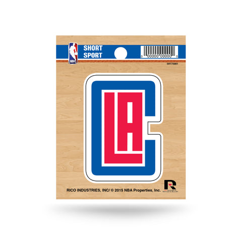 "Los Angeles Clippers 3"" x 2"" Die-Cut Decal Window, Car or Laptop!"