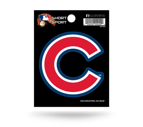 "Chicago Cubs 3"" x 3"" Die-Cut Decal NEW!! MLB Car or Laptop"