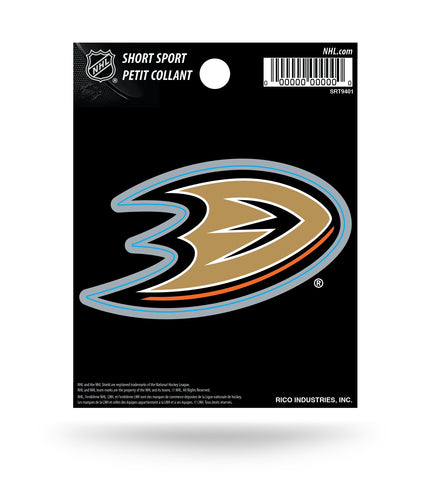 "Anaheim Ducks 3"" x 2"" Die-Cut Decal Window, Car or Laptop!"