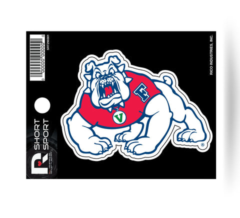 "Fresno State Bulldogs 3"" x 2"" Die-Cut Decal Window, Car or Laptop!"